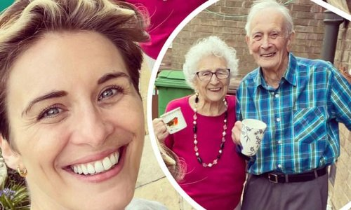 Vicky McClure is reunited with her grandparents in heartwarming snap
