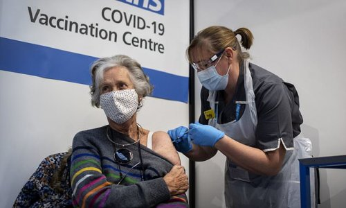 Almost 70 percent of adults get their first Covid-19 jab