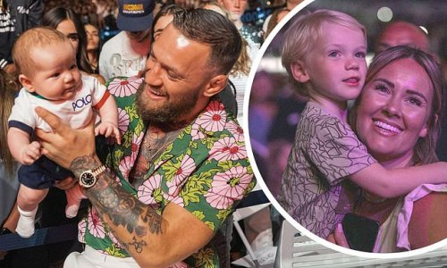 Conor McGregor takes his 'beautiful family' to Justin Bieber's concert