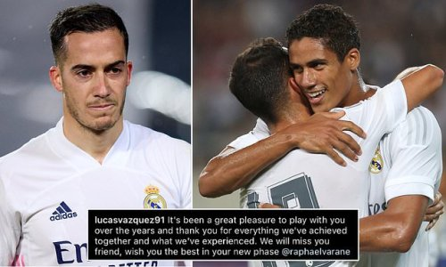 Vazquez bids farewell to Varane before Man United move is confirmed