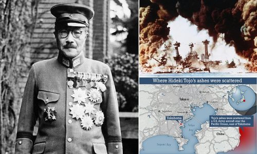 US mission to scatter Hideki Tojo's ashes at sea is revealed