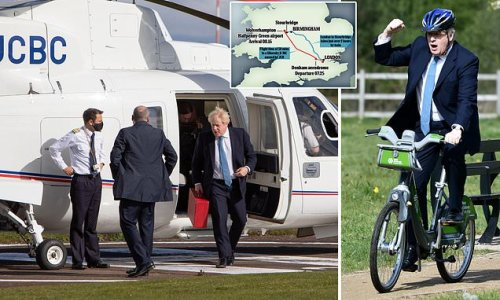 PM criticised for 'completely unnecessary' 50-minute helicopter trip