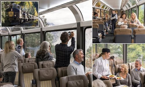 New train trip through U.S Southwest will feature glass-dome coaches