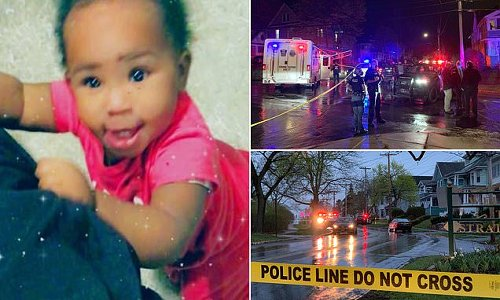 Baby girl aged just 11 months is shot dead in New York