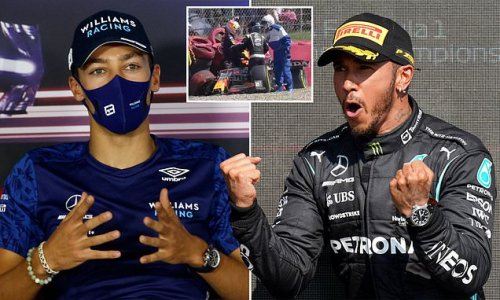 Russell shuts down claims that Hamilton is a 'dirty driver'