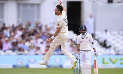 BUMBLE ON THE TEST: Anderson taking Kohli's wicket was pure theatre