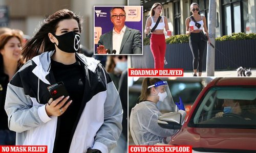 Blow for Victoria as mask rules to remain at 80 per cent double dose