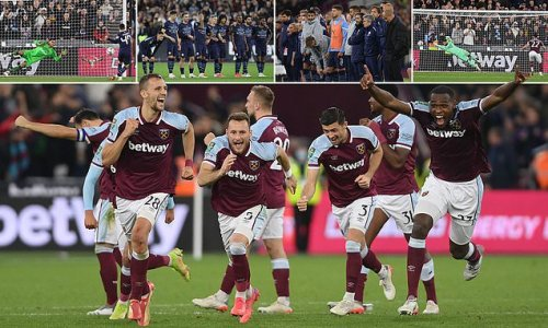 Manchester City dumped OUT of Carabao Cup by West Ham on penalties