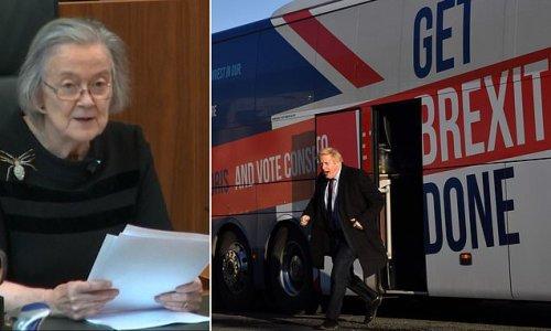 Baroness Hale reveals her 'satisfaction' from ruling Boris Johnson