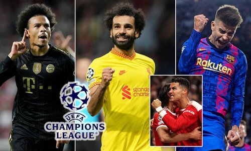 Champions League: Salah and Pique make our team of the week