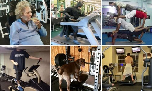 Gym goers share the very funny scenes they witnessed at the gym