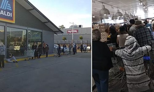 Aldi shoppers wait in 400m queue just to snag supermarket's cookware