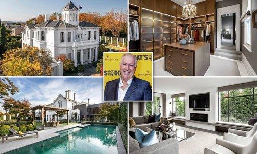 Gold Logie winner Steve Vizard's former home in Toorak makes big sale