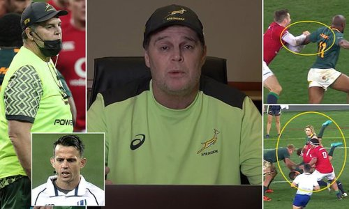 Rassie Erasmus launches into hour-long rant at referees