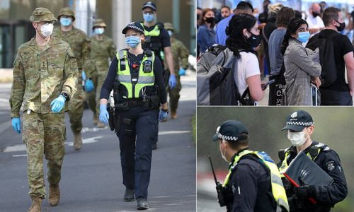 Victoria swarms the NSW border with 700 cops
