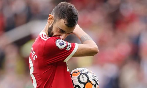 Bruno Fernandes apologises for penalty miss against Aston Villa