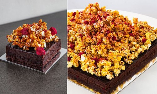 Aussie bakery launched an indulgent chocolate popcorn cake