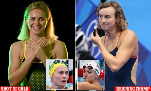 Ariarne Titmus to face rival Katie Ledecky in 400m freestyle final