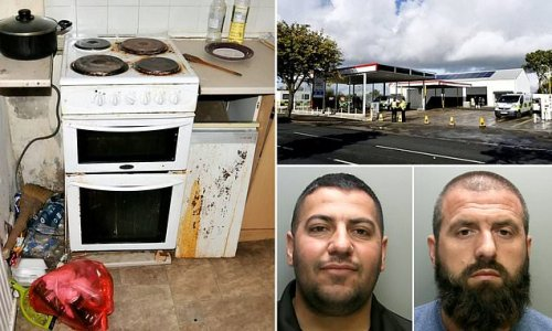 Two men who paid trafficked workers just £20-A-WEEK at car wash jailed