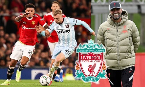 Liverpool 'fail with first offer of £20m' for West Ham striker Bowen