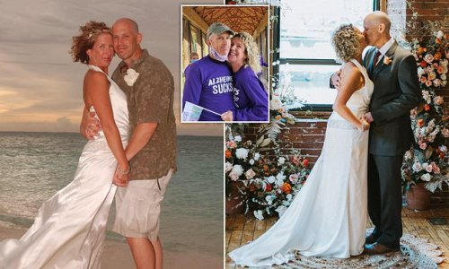 Husband, 56, with Alzheimer's marries wife after forgetting wedding