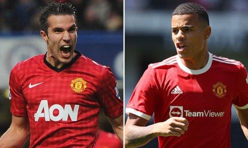Man Utd's Mason Greenwood pleased with Robin van Persie comparison