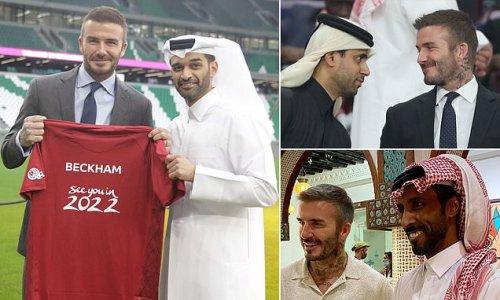 David Beckham 'agrees £150million ambassadorial deal with Qatar'