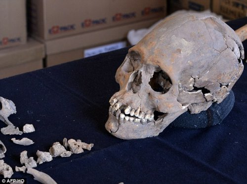 1,600-year-old skeleton of woman with JEWELS for teeth uncovered