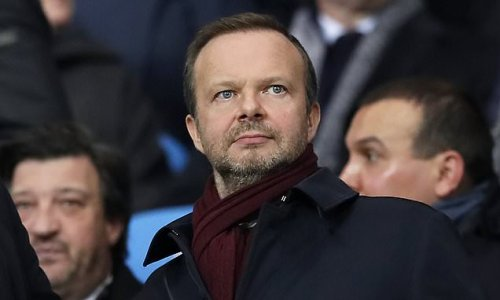 Ed Woodward says Man United 'are on the right track' to win silverware