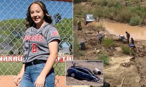 Arizona teen's body found near river after flood waters swept her away