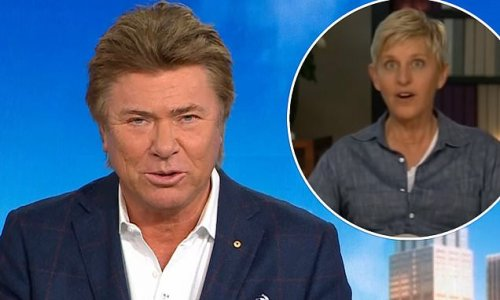 Richard Wilkins recalls 'weird, cold' interview with Ellen DeGeneres