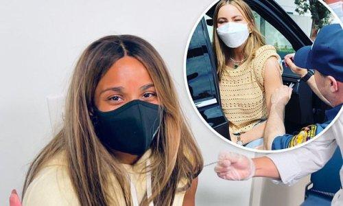 Sofia Vergara, Ciara, Bethenny Frankel and Joe Jonas get vaccinated