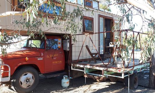Aussies can now spend a night in a fully renovated 1970s farm truck