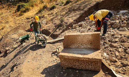Archaeologists discover VIP seats at a 1,800-YEAR-OLD arena in Turkey