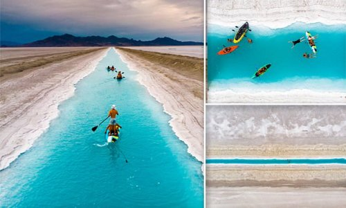 Instagram influencers ordered to stay away from Utah's 'blue canal'