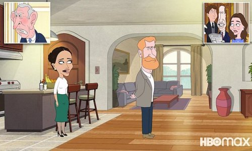 Animated satire The Prince is released and takes aim at the Royals