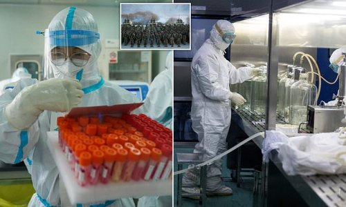China 'preparing for WW3 with biological weapons for last six years'