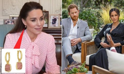 Kate Middleton wore £85 earrings from Meghan Markle's favourite brand