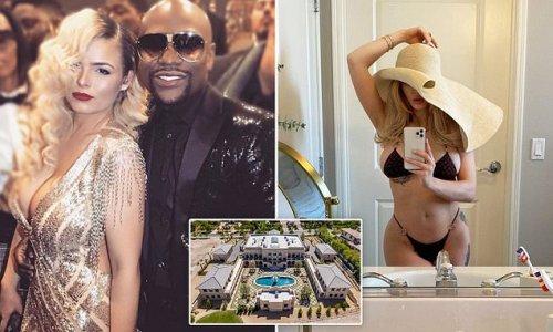 Floyd Mayweather 'KICKS OUT his stripper girlfriend Anna Monroe'
