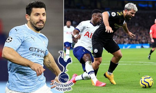 Aguero 'would consider Spurs move' just to stay in the Premier League