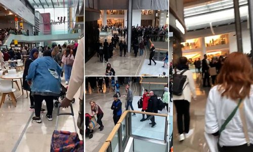 Westfield shopping centre in Stratford is evacuated AGAIN