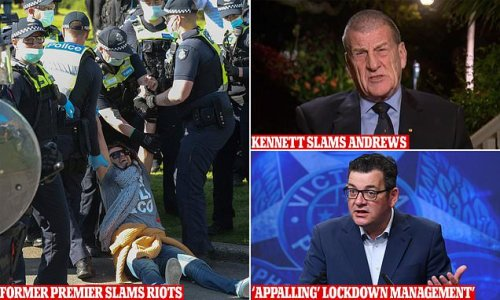 Ex-Victorian premier UNLEASHES at 'appalling' Dan Andrews for lockdown