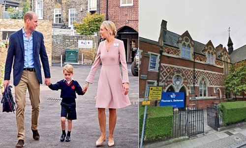 Will William and Kate move George to a Berkshire boarding school?