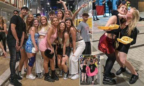 First-year students out in their thousands as Freshers' week nears end
