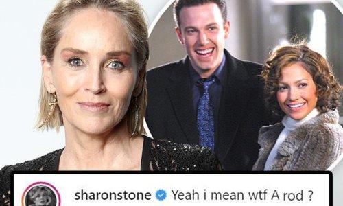 Sharon Stone reacts to Ben Affleck and Jennifer Lopez back together