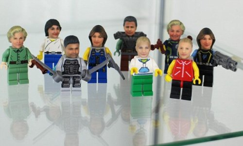 Get your own face 3D printed on a Lego figure