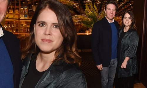 Princess Eugenie and Jack Brooksbank enjoy baby-free evening out