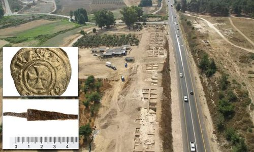 First evidence of Crusader encampment in Israel dates to 12th century