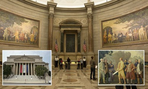 National Archives racism task force calls out its own Rotunda