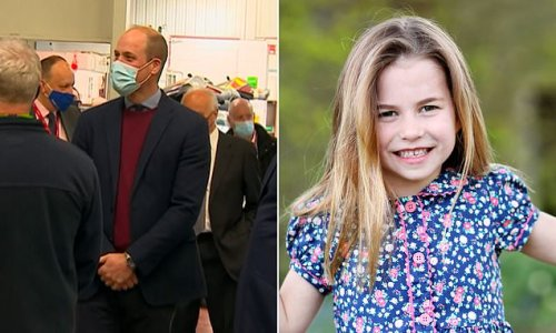 Prince William reveals Charlotte tells anyone who asks she's 16!